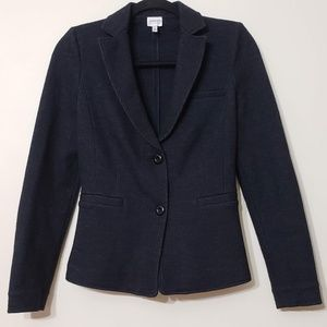 Armani Collezioni Knit 2 Button Suit Jacket, sz 2